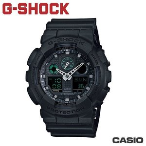 "CASIO GA-100MB-1A《G-SHOCK ""BIG G""》BLACK限定款(消光黑)"