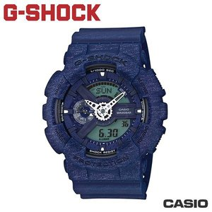 "CASIO《 G-SHOCK ""BIG G""》55mm/針織紋路系列 GA-110HT-2A"