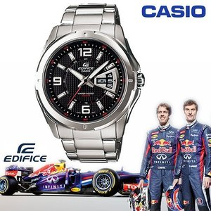 CASIO EF-129D-1A《EDIFICE↘Red Bull 紅牛F1車隊系列》45mm