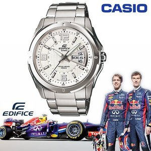 CASIO EF-129D-7A《EDIFICE↘Red Bull 紅牛F1車隊系列》45mm