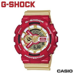 "CASIO GA-110CS-4A《 G-SHOCK ""BIG G""》55mm/英雄內戰 鋼鐵人配色"