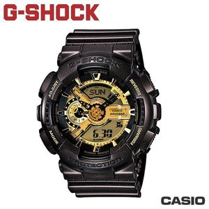 CASIO《G-SHOCK BIG G 》THREE EYE 咖啡金系列 GA-110BR-5A