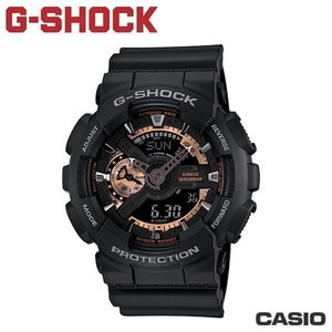 "CASIO《G-SHOCK ""BIG G""》THREE EYE黑金系列 GA-110RG-1A"