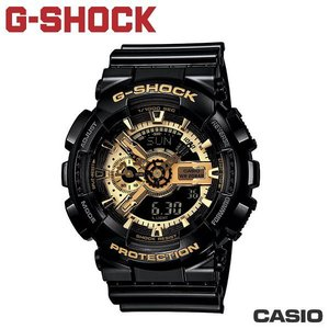 "CASIO GA-110GB-1A《 G-SHOCK ""BIG G""》55mm/英雄內戰 黑金配色"