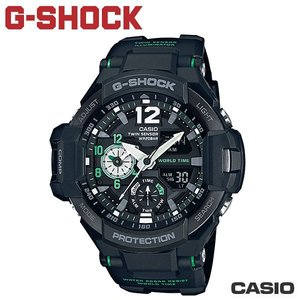 "CASIO《G-SHOCK ""Gravity Defier""飛行錶》電子羅盤/溫度 GA-1100-1A3"
