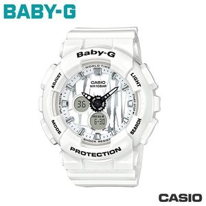 CASIO BA-120SP-7A《Baby-G↘街頭塗鴉風》G-Shock MINI系列/白 @11