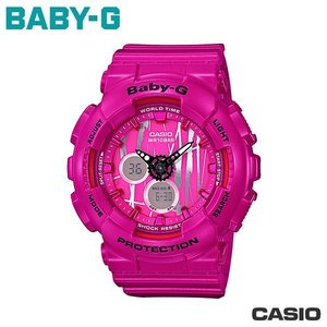 CASIO BA-120SP-4A《Baby-G↘街頭塗鴉風》G-Shock MINI系列/桃紅@11