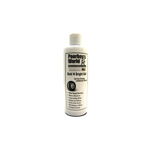 Poorboy's World Bold 'N Bright Tire Dressing Gel 16 oz. (窮小子高光澤輪胎凝膠) *約473ml