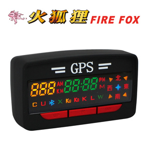 【火狐狸 FIRE FOX】GPS-A3 Plus 衛星定位行車警示器(入門版)