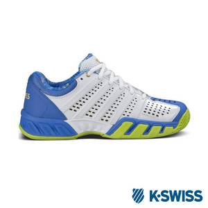 K~Swiss Bigshot Light 2.5 50th 鞋~女~白 藍 金
