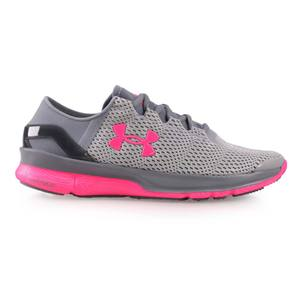 UNDER ARMOUR UA SPEEDFORM APOLLO2女慢跑鞋 灰桃紅