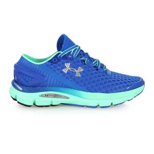UNDER ARMOUR UA SPEEDFORM GEMINI2女慢跑鞋~ 路跑 寶藍綠