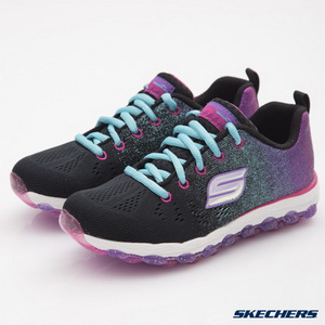 SKECHERS(童)女童系列Skech Air Ultra-80035LBKMT