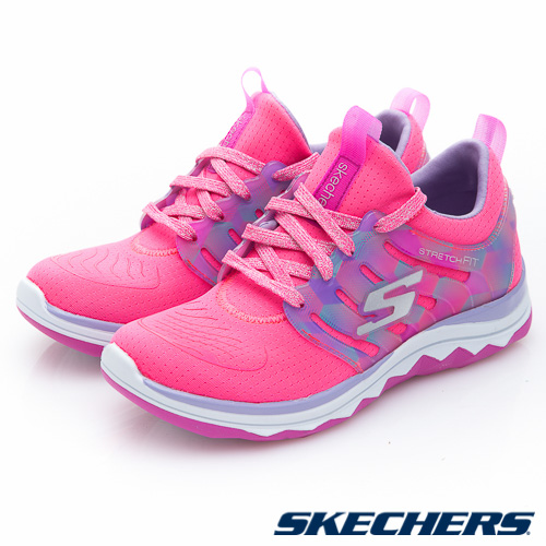 SKECHERS (童) 女童系列 DIAMOND RUNNER - 81560LNPNK