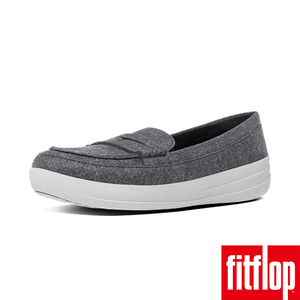 ~FitFlop TM~F~SPORTY TM PENNY LOAFERS FELT~灰色