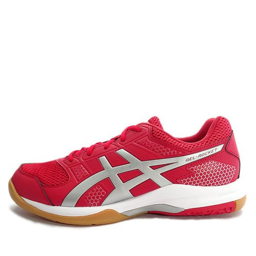 Asics GEL-Rocket 8 [B706Y-2393] Men Volleyball Badminton Shoes Red/Silver-Wine 男 排球鞋  紅  銀