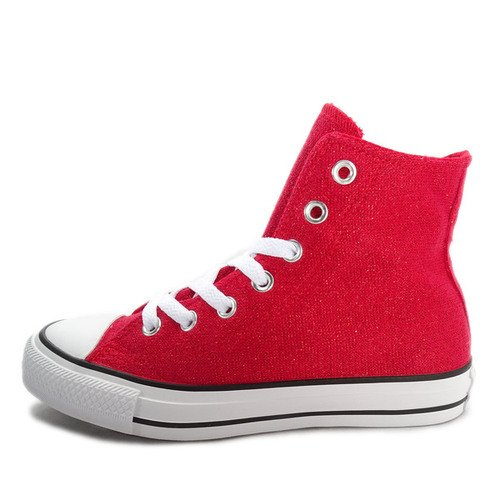 Converse Chuck Taylor All Star Material [549646C] Women Casual Shoes Red/White