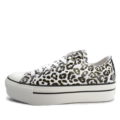Converse CTAS Double Zip [542471C] Casual Chuck Taylor All Star Leopard/White