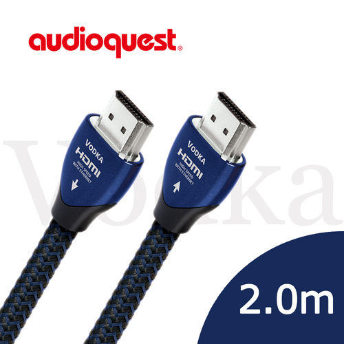 美國線聖 Audioquest HDMI Vodka 伏特加 (2.0m) 支援4K 3D/公司貨